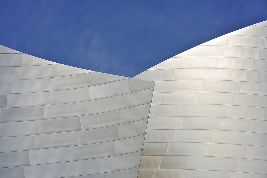 Disney Concert Hall | NIKON 85MM F/1.4D AF <br> Click image for more details, Click <b>X</b> on top right of image to close