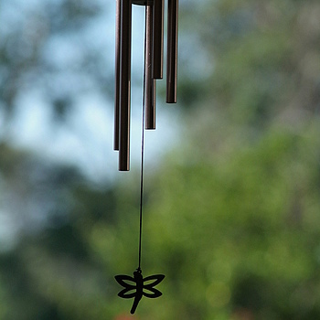 Wind Chime | NIKON 180MM F/2.8 ED-IF AF <br> Click image for more details, Click <b>X</b> on top right of image to close