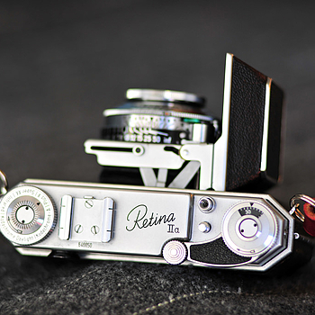 Kodak Retina IIa | LENS MODEL NOT SET <br> Click image for more details, Click <b>X</b> on top right of image to close