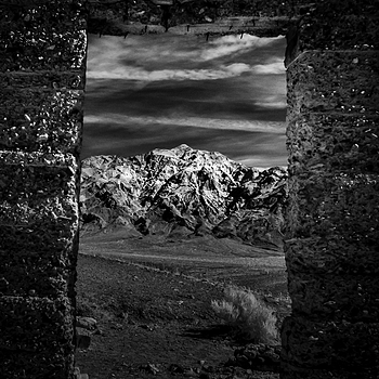 Ashford Mill Ruin - Death Valley, CA | NIKON 24MM F/2.8D AF <br> Click image for more details, Click <b>X</b> on top right of image to close
