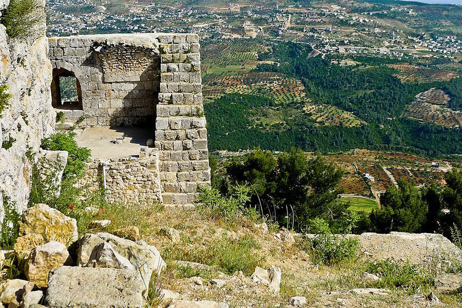 Ajloun castle - Jordan | LENS MODEL NOT SET <br> Click image for more details, Click <b>X</b> on top right of image to close