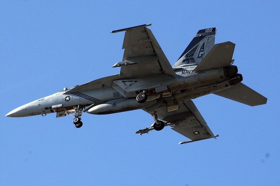 F-18 03 | NIKON 80-400MM F/4.5-5.6D ED AF VR <br> Click image for more details, Click <b>X</b> on top right of image to close