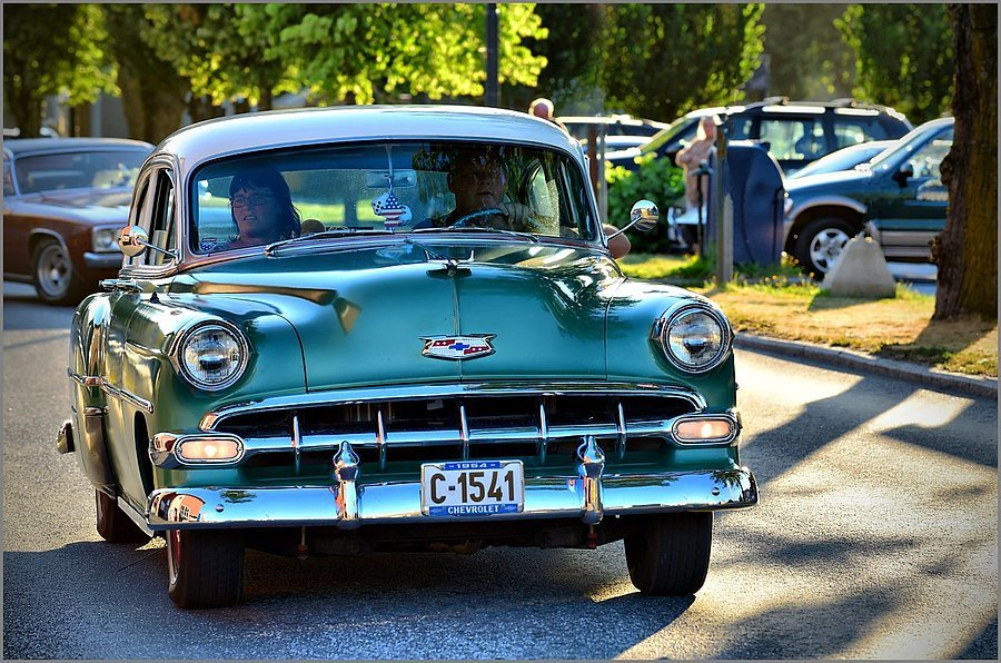 """1954 Chevrolet"" @ Halden Cruise Night 