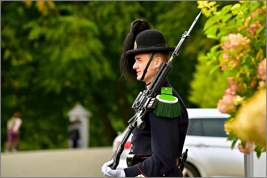My grandson in the Royal Norwegian Guards | NIKKOR AF-S 70-200MM F/4G ED VR <br> Click image for more details, Click <b>X</b> on top right of image to close