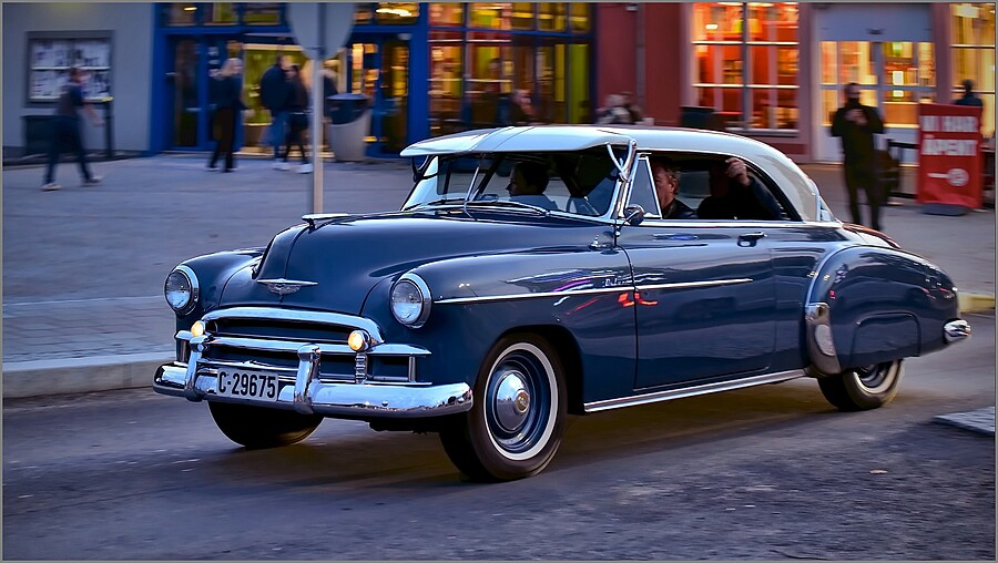 Night Cruiser - '50 CHEVROLET De Luxe  | TAMRON SP 70-300MM F4-5.6 DI VC USD SP <br> Click image for more details, Click <b>X</b> on top right of image to close