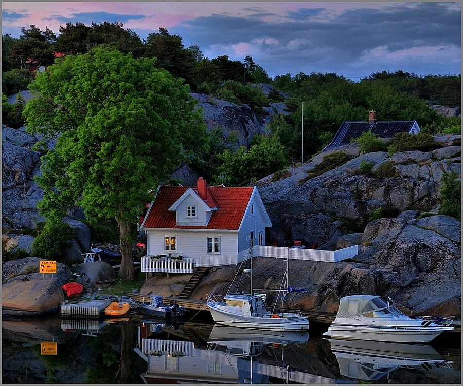 Summer Night in Norway V | NIKON 16-85MM F/3.5-5.6G ED AF-S VR DX <br> Click image for more details, Click <b>X</b> on top right of image to close