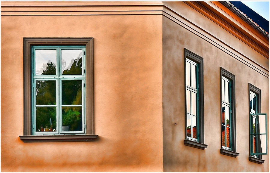 Windows Reflections | NIKON 85MM F/1.8D AF <br> Click image for more details, Click <b>X</b> on top right of image to close