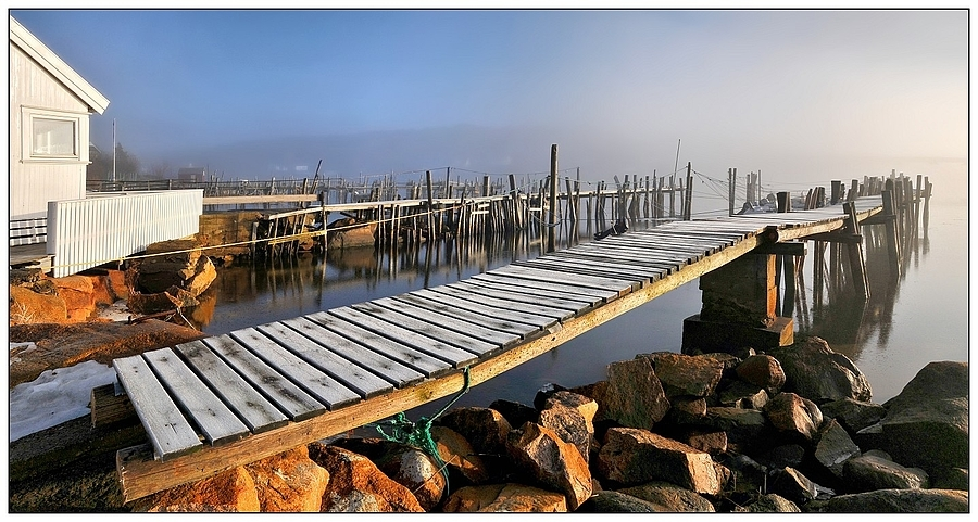 Panorama-Stitch - Fog on the Water | NIKON 16-85MM F/3.5-5.6G ED AF-S VR DX <br> Click image for more details, Click <b>X</b> on top right of image to close