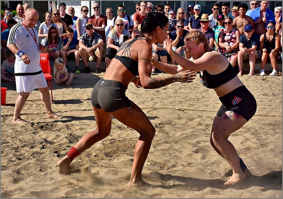 Beach Wrestling | NIKON 18-140MM F/3.5-5.6G VR <br> Click image for more details, Click <b>X</b> on top right of image to close