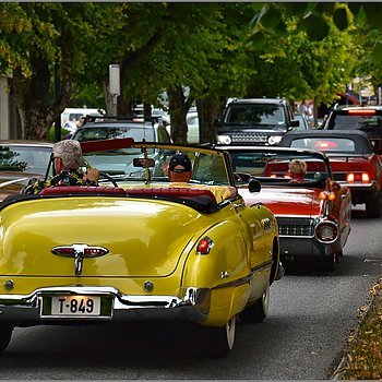 Happy Cruise Night for classic Amcars | NIKKOR AF-S 70-200MM F/4G ED VR <br> Click image for more details, Click <b>X</b> on top right of image to close