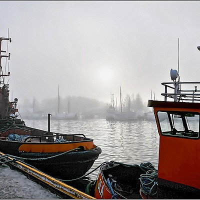Fog in the Harbour | NIKON 16-85MM F/3.5-5.6G ED AF-S VR DX <br> Click image for more details, Click <b>X</b> on top right of image to close