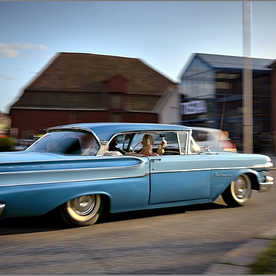 Mercury Monterey on the Move ...! | NIKON 16-35MM F/4G ED AF-S VR <br> Click image for more details, Click <b>X</b> on top right of image to close