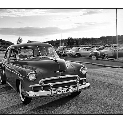 1950 Chevrolet Styleline 4-doors DeLux | NIKON 16-85MM F/3.5-5.6G ED AF-S VR DX <br> Click image for more details, Click <b>X</b> on top right of image to close