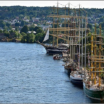 Old Square Rigged Sailing Ships | NIKON 16-85MM F/3.5-5.6G ED AF-S VR DX <br> Click image for more details, Click <b>X</b> on top right of image to close