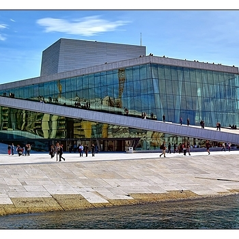 National Opera House Oslo / Norway | TAMRON SP 24-70MM F/2.8 DI VC USD <br> Click image for more details, Click <b>X</b> on top right of image to close