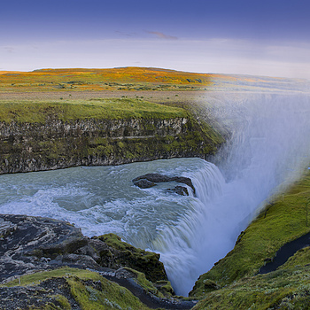 Gullfoss | NIKON 14-24MM F/2.8G ED AF-S N <br> Click image for more details, Click <b>X</b> on top right of image to close