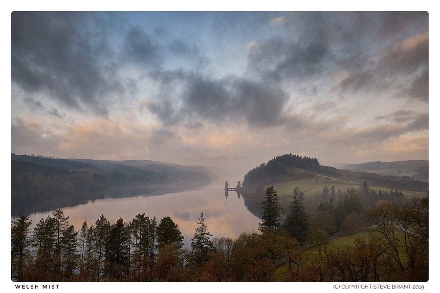 Welsh Mist. Lake Vyrnwy | NIKON AF-S NIKKOR 20MM F/1.8G ED <br> Click image for more details, Click <b>X</b> on top right of image to close