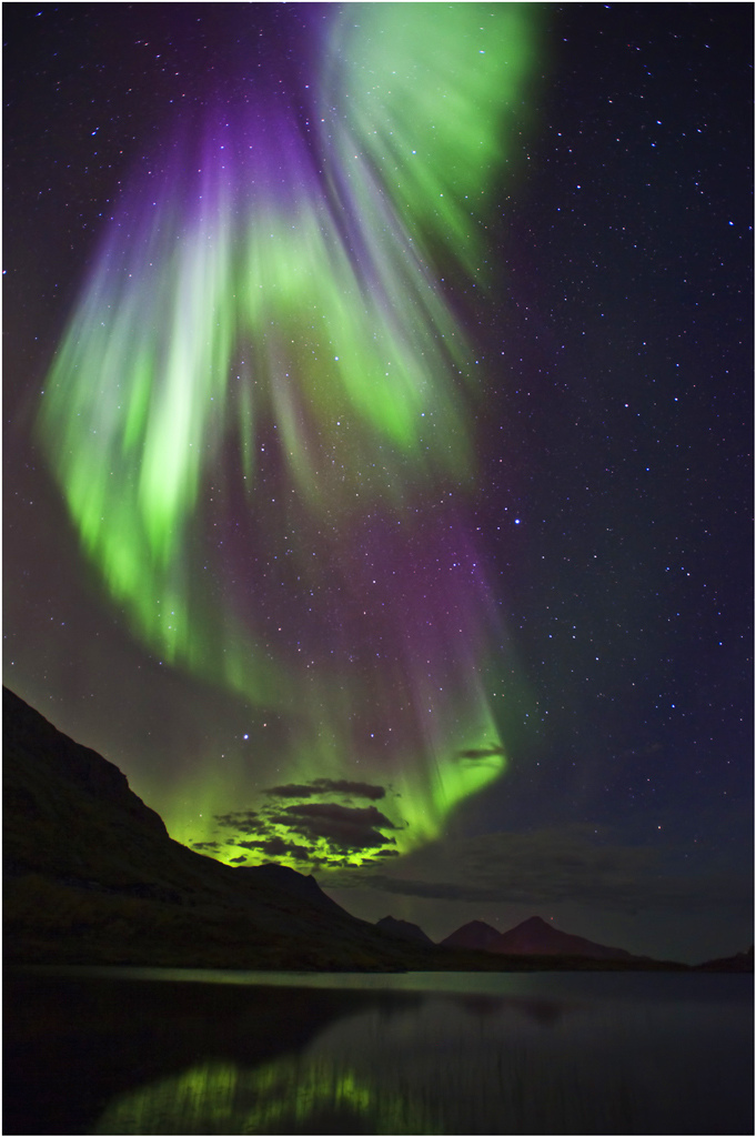 Northern Lights | NIKON 17-35MM F/2.8 ED-IF AF-S <br> Click image for more details, Click <b>X</b> on top right of image to close