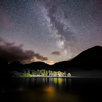 Milky Way over Buttermere | NIKON 14-24MM F/2.8G ED AF-S N <br> Click image for more details, Click <b>X</b> on top right of image to close