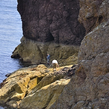 Eyemouth Rock Fishing  1 | NIKON 18-105MM F/3.5-5.6G ED-IF AF-S VR DX <br> Click image for more details, Click <b>X</b> on top right of image to close