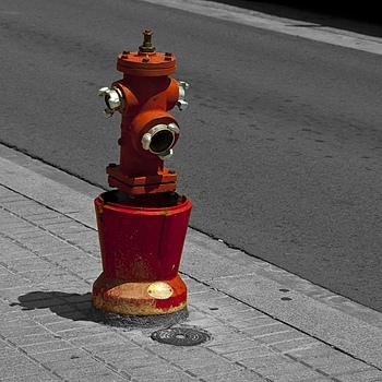 Fire Hydrant Spanish Style | NIKON 18-105MM F/3.5-5.6G ED-IF AF-S VR DX <br> Click image for more details, Click <b>X</b> on top right of image to close