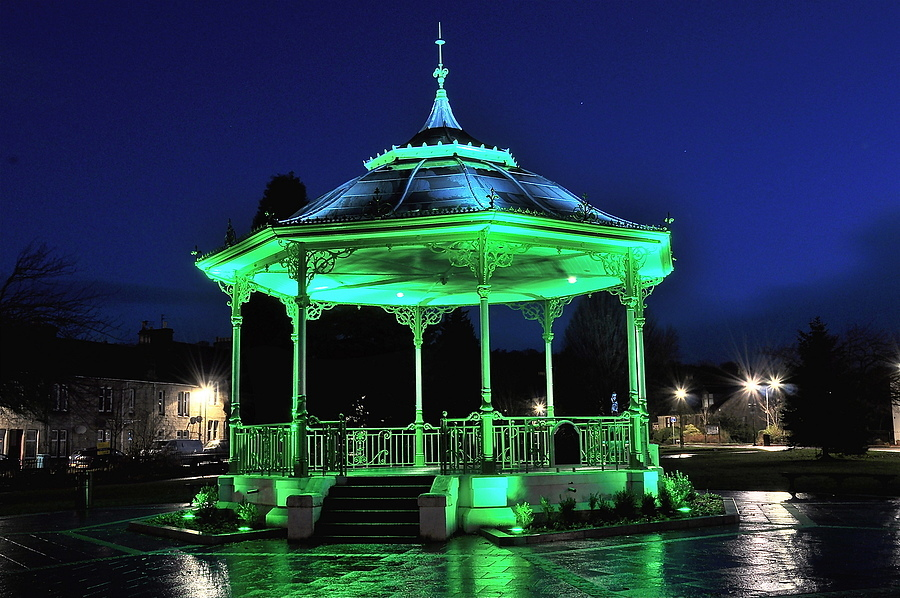 Bandstand,Kilsyth,Scotland | NIKON 18-105MM F/3.5-5.6G ED-IF AF-S VR DX <br> Click image for more details, Click <b>X</b> on top right of image to close