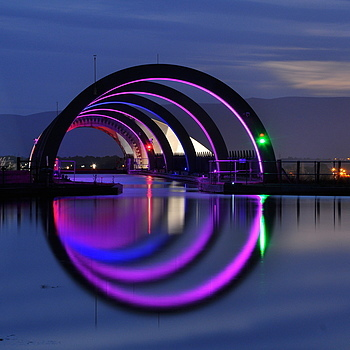 The Falkirk Wheel,Scotland