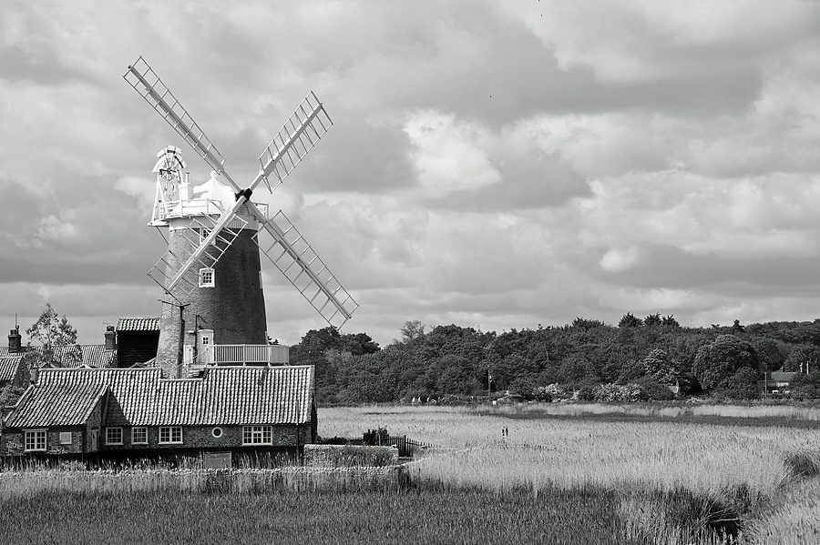 Cley Mill, Norfolk | NIKON 24-120MM F/4G ED VR <br> Click image for more details, Click <b>X</b> on top right of image to close