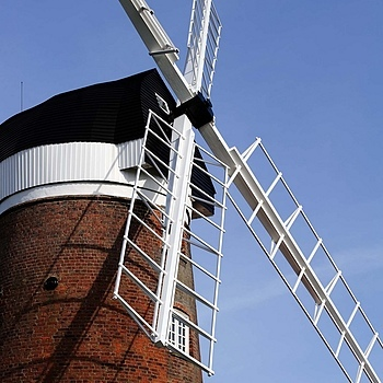 Weybourne Mill | NIKON 28-105MM F/3.5-4.5D AF <br> Click image for more details, Click <b>X</b> on top right of image to close