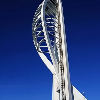 Spinaker Tower - Portsmouth | NIKON 28-105MM F/3.5-4.5D AF <br> Click image for more details, Click <b>X</b> on top right of image to close