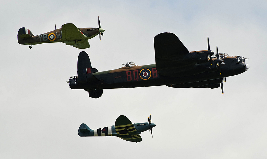 Battle of Britain Memorial Flight | NIKON 70-200MM F/2.8G ED-IF AF-S VR <br> Click image for more details, Click <b>X</b> on top right of image to close