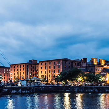 Albert Dock, Liverpool. | LENS MODEL NOT SET
