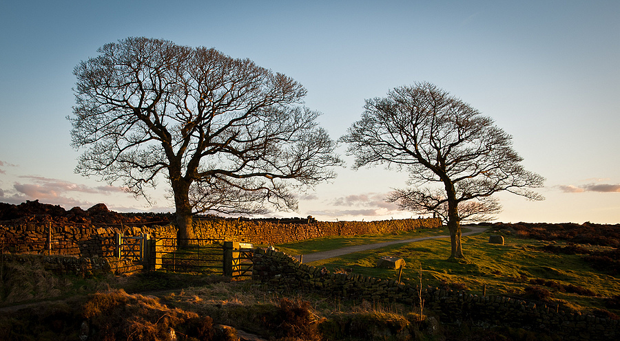 Evening at curbar Gap | LENS MODEL NOT SET <br> Click image for more details, Click <b>X</b> on top right of image to close