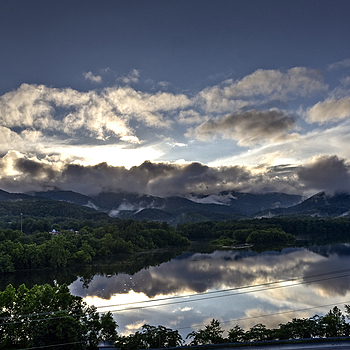 Love the view over Cove Lake in TN | SIGMA 10-20MM F4-5.6