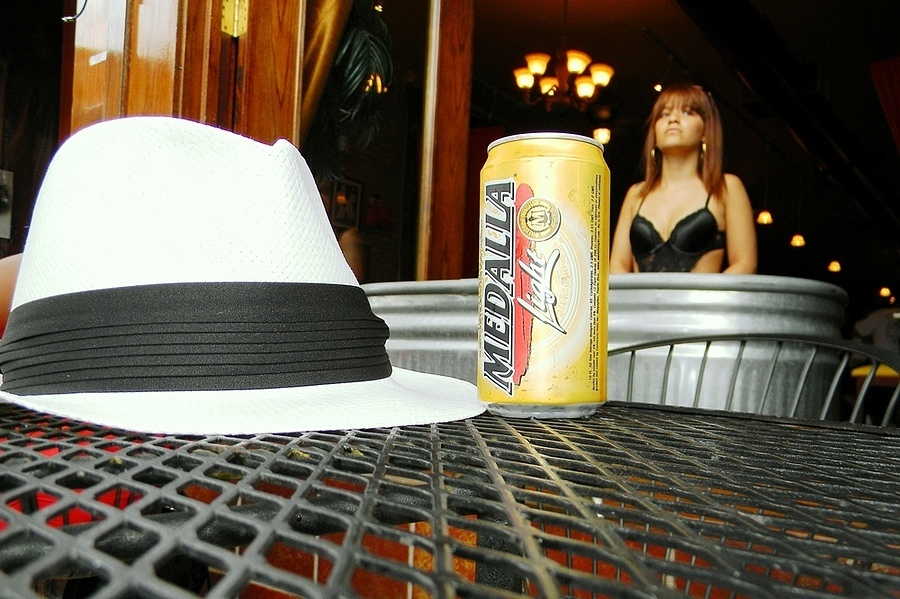 Hat and beer | LENS MODEL NOT SET <br> Click image for more details, Click <b>X</b> on top right of image to close