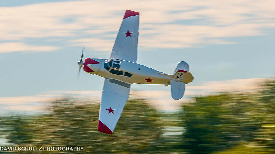 Ross Granley Yakovlev Yak-18 | SIGMA 50-500MM F4.5-6.3 DG OS HSM <br> Click image for more details, Click <b>X</b> on top right of image to close