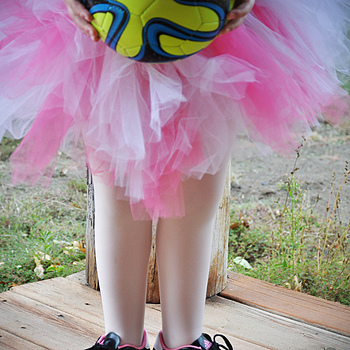 When soccer meets ballet