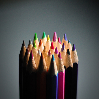 Colored Pencil | NIKON 50MM F/1.8 <br> Click image for more details, Click <b>X</b> on top right of image to close