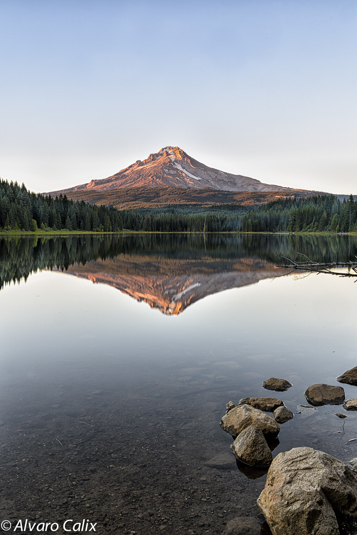 Mt Hood Reflections | NIKON 24-70MM F/2.8G ED AF-S N <br> Click image for more details, Click <b>X</b> on top right of image to close