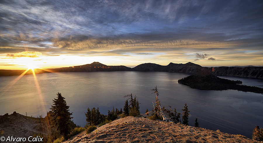 Good Morning, Crater Lake | LENS MODEL NOT SET <br> Click image for more details, Click <b>X</b> on top right of image to close