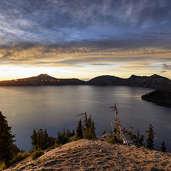 Good Morning, Crater Lake | LENS MODEL NOT SET