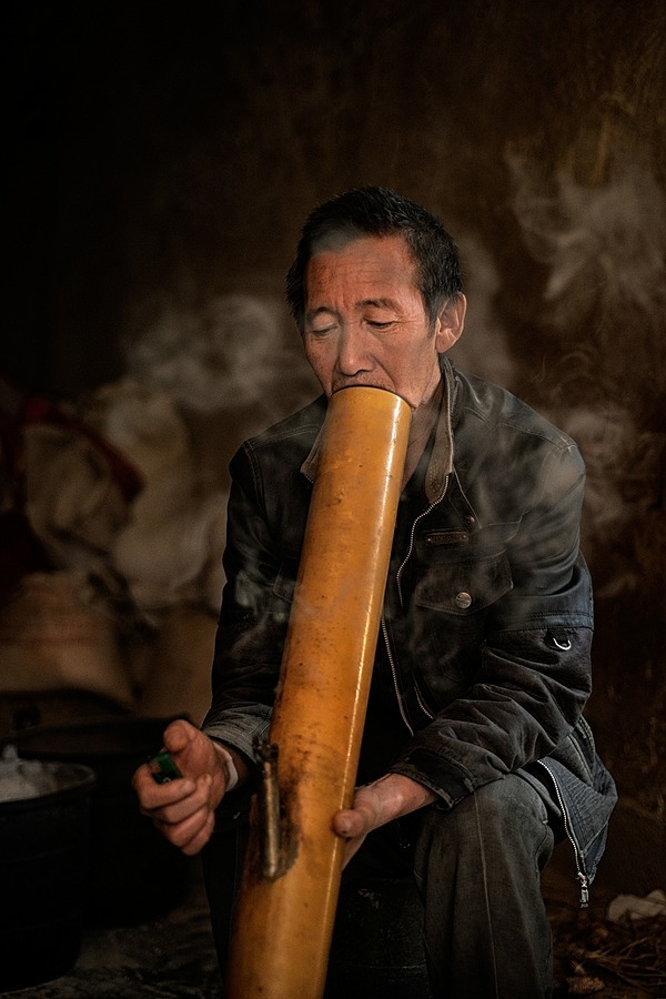 Bamboo Pipe | NIKON 50MM F/1.8D AF <br> Click image for more details, Click <b>X</b> on top right of image to close