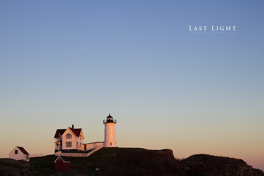 Last Light @ Nubble Light | ZEISS ZF-II MAKRO-PLANAR T* F2.0 50MM <br> Click image for more details, Click <b>X</b> on top right of image to close