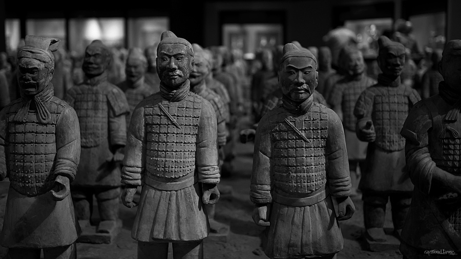 The Terracotta Army | ZEISS ZF-II DISTAGON T* F2.0 35MM <br> Click image for more details, Click <b>X</b> on top right of image to close
