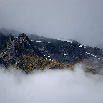Mist Covered Mountains | NIKON 55-200MM F/4-5.6G ED AF-S VR DX <br> Click image for more details, Click <b>X</b> on top right of image to close