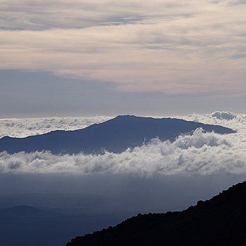 Hualalai Volcano Cloaked in Clouds | NIKON 55-200MM F/4-5.6G ED AF-S VR DX <br> Click image for more details, Click <b>X</b> on top right of image to close