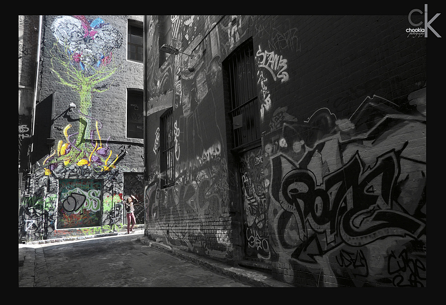 Hosier lane @ Australia | NIKON 18MM F/2.8D AF <br> Click image for more details, Click <b>X</b> on top right of image to close