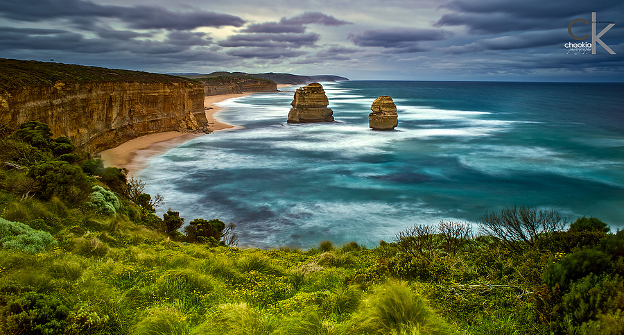 12 Apostles @ Australia | NIKON 24MM F/2.8D AF <br> Click image for more details, Click <b>X</b> on top right of image to close