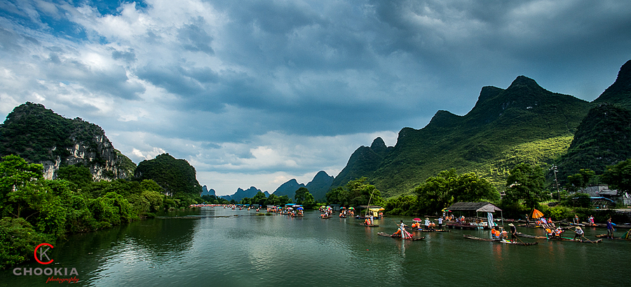 桂林风水甲天下 II Yangshuo,Guilin | NIKON 18MM F/2.8D AF <br> Click image for more details, Click <b>X</b> on top right of image to close