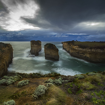 The Elephant Rocks @ The Great Ocean Road,Australia. | NIKON 14MM F/2.8D ED AF